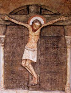 Jézust Keresztre szegezik
